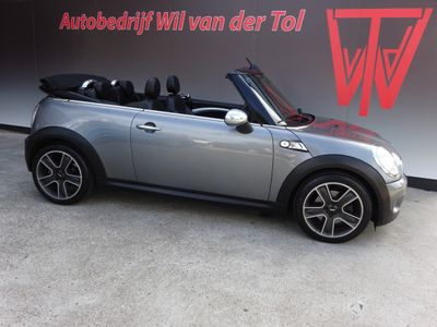 tweedehands Mini Cooper S Cabriolet 1.6 CHILI | XENON | LEER | CRUISE | 17 INCH | 174