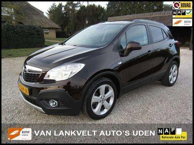 tweedehands Opel Mokka 1.4 turbo enjoy 4x4 navi, ecc, 18 inch