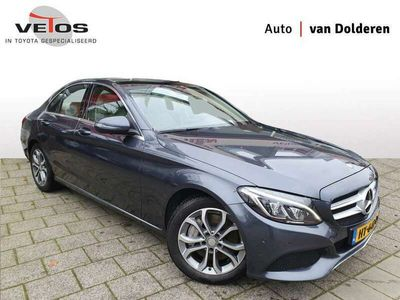 tweedehands Mercedes C350e Lease Edition EX BTW Pano/360 graden camera