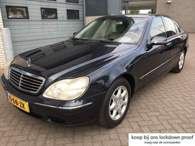 tweedehands Mercedes S320 Automaat // youngtimer (climate control - cruise c
