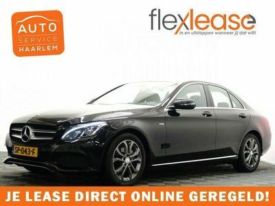 tweedehands Mercedes 220  C-Klasse, SedanCDI Prestige AMG Line 170pk Autom Leer, Navi, Xenon