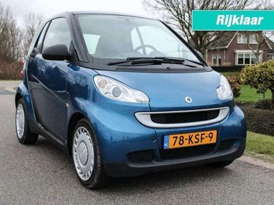 tweedehands Smart ForTwo Coupé Coupé 1.0 MHD 71pk Automaat Pure Panoramadak