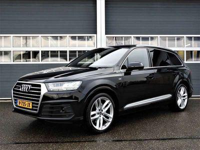 tweedehands Audi Q7 3.0 TDI AUT | 3X S-LINE | 21 INCH | PANO | VAN //