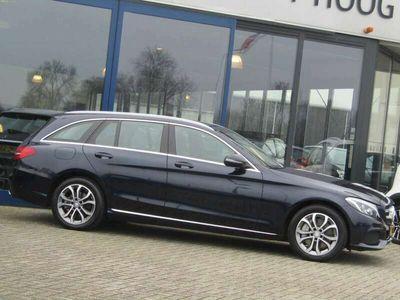 tweedehands Mercedes C350 Estate 350e Avantgarde EXCL BTW NAVI BURMESTER