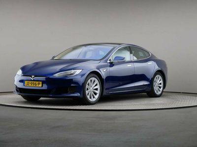 tweedehands Tesla Model S 70 kWh, Automaat, LED, Leder, Navigatie, Panoramadak