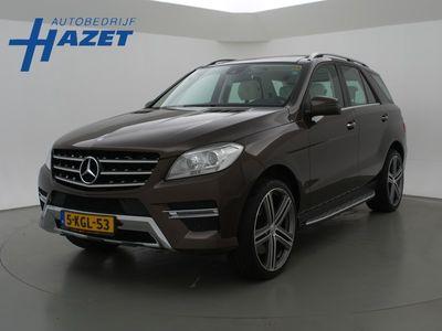 tweedehands Mercedes 350 M-KlasseV6 306 PK AMG STYLING + DESIGNO LEDER / 22 INCH BRABUS / PANORAMA / KEYLESS GO
