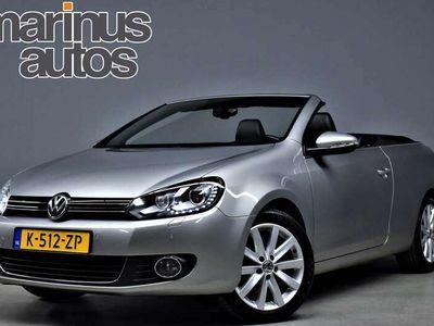 tweedehands VW Golf Cabriolet 1.4 TSI 160pk Highline DSG Navi/Leer/Xenon/Led/Spo