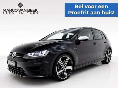tweedehands VW Golf 2.0 TSI R 4Motion Nw. Prijs € 60.542 Pano Leder Grt. Navi Keyless Geïnteresseerd?