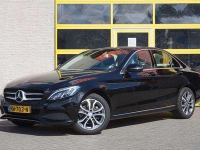 """tweedehands Mercedes C220 CDI Ambition BJ2015 Lmv 17""""   Led   Pdc   Navi   C"""