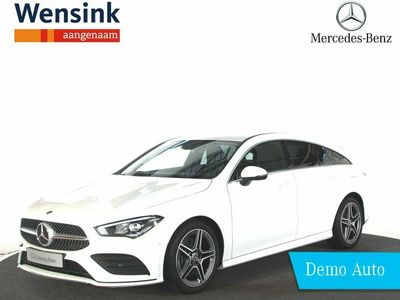 tweedehands Mercedes 220 CLA-KLASSE Shooting BrakeAMG-Line | Digitale DAB+ Radio | EASY-PACK-achterklep | Apple CarPlay | Android Auto | Privacy glas | High-Performance LED | Achteruitrijcamera |
