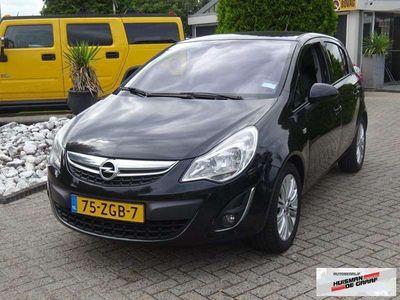 tweedehands Opel Corsa 1.2 ecoFLEX Selection LPG 2012 5-Deurs Zwart