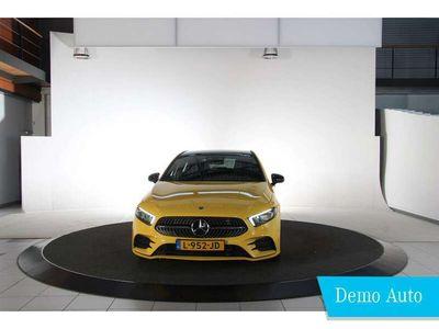 tweedehands Mercedes A180 Business Solution AMG | Panorama-schuifdak | Night | Sfeerverlichting |