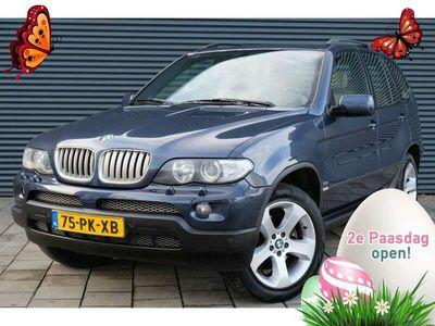 tweedehands BMW X5 3.0i High Executive   Cruise   Leer   Navi   Trekh