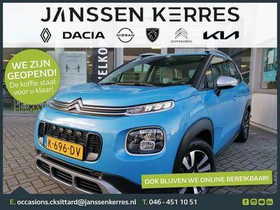 tweedehands Citroën C3 Aircross 1.2 PureTech S&S Feel PANORAMA-DAK | METROPOLITAN GREY | KEYLESS ENTRY