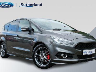 tweedehands Ford S-MAX 2.0 Ecoblue ST-Line 190pk Automaat 7 pers. | Euro 6.2 | Pano-dak | Adaptieve Cruise | Trekhaak | BLIS | Verlengde Fabrieksgarantie t/m 06-2023