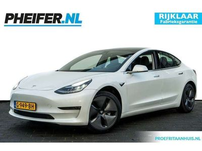 tweedehands Tesla Model 3 Standard RWD Plus 4% Bijt./ EX BTW!/ Panoramadak/