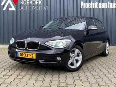 tweedehands BMW 118 118 d 143PK 5D Aut Navi Xenon Sport stoelen Cruise