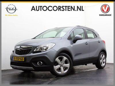 tweedehands Opel Mokka 1.4T 140pk Cosmo Aut. Navi Pdc Camera Tel. Usb Cruise Ecc Esp Stoel/stuurverw. Isofix 18''LM