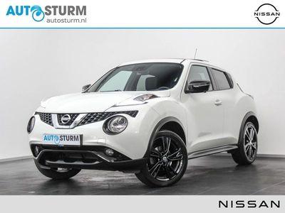 tweedehands Nissan Juke 1.5 dCi S/S Tekna | Panoramadak | Trekhaak Afneembaar | Leder | Keyless Entry | Stoelverwarming | 360° Camera | Navigatie | 18'' | DAB | Rijklaarprijs!