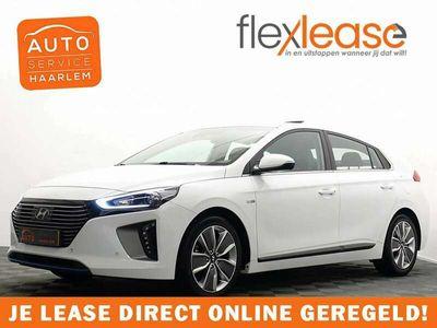 tweedehands Hyundai Ioniq 1.6 GDi First Edition Hybrid Aut, Schuifdak, Leer,