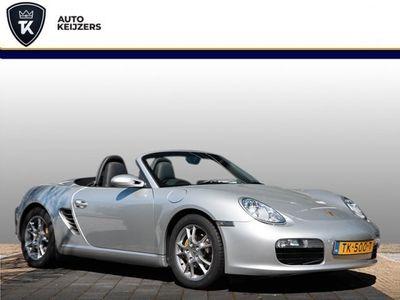 tweedehands Porsche Boxster 2.7 RHD Leer Xenon Stoelverw. Climate Zondag a.s. open!