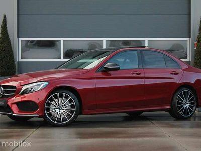 tweedehands Mercedes C400 4MATIC |360 camera|standkachel|pano
