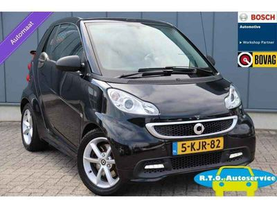 tweedehands Smart ForTwo Cabrio cabrio 1.0 mhd Passion AIRCO AUTOMAAT