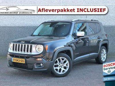 tweedehands Jeep Renegade 1.6 MultiJet 120pk VAN Limited |Grijs kenteken|Rij