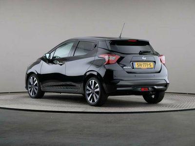 tweedehands Nissan Micra 0.9 IG-T Tekna, Navigatie – € 13.900