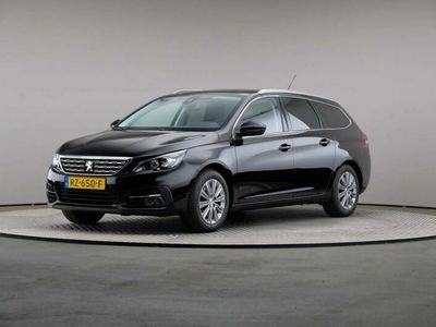 tweedehands Peugeot 308 SW Blue Lease Premium 1.2 PureTech 130, Automaat, LED, Navigatie, Panoramadak