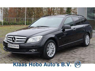 tweedehands Mercedes 220 C-KLASSE EstateCDI BlueEFFICIENCY Airco, Parkeersensoren, Schuif/kanteldak, Trekhaak, Leder