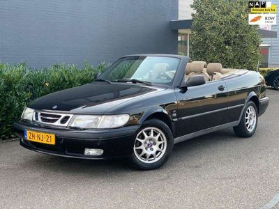 tweedehands Saab 9-3 Cabriolet 2.0t S/AUT/PDC/LEDER/AIRCO/CRUISE/2XSLEUTEL