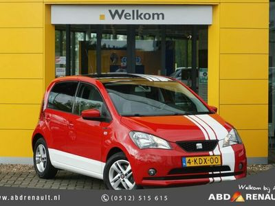 tweedehands Seat Mii 1.0 Chill Out | Uniek! | Zonnedak | Parkeersensoren achter | Airco | Lichtmetalen velgen | Elektrische spiegels |