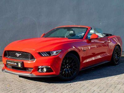 tweedehands Ford Mustang GT Convertible 5.0 422-pk.Leder.Key-less.Stoelkoel