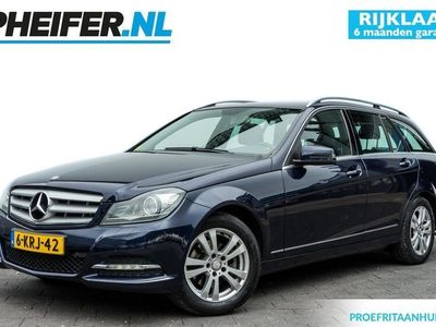 tweedehands Mercedes 180 C-KLASSE EstateCDI 120pk Ambition Elegance Trekhaak/ Xenon/ Lederen int./ Stoelverwarming/ Cruise control