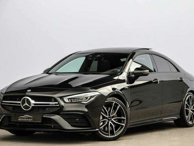 tweedehands Mercedes CLA35 AMG 4MATIC Premium Plus Pano Nightpakket 306pk 2020