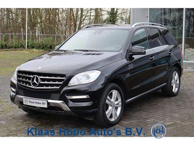 tweedehands Mercedes 350 M-KLASSEBlueTEC Airco, Trekhaak, Schuif/kanteldak, Parkeersensoren, Navigatie