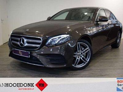 tweedehands Mercedes E220 Aut. AMG-LINE-WIDESCREEN-SFEERVERL. EXCL. BTW/BP