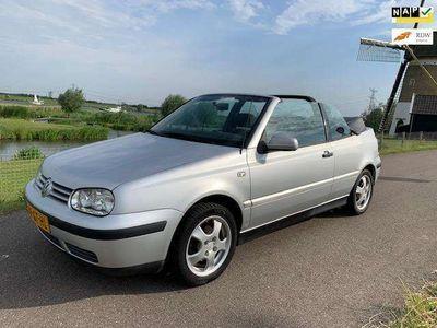 tweedehands VW Golf Cabriolet 2.0 Trendline NIEUWE APK! GEINIG VOOR WEINIG!