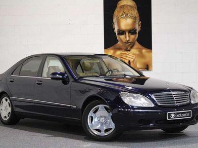 tweedehands Mercedes S600 Lang V12 1e eigenaar nwprijs € 161.500,--