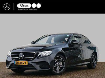 tweedehands Mercedes E300 de Hybride   AMG   Nightpakket   Panoramadak   Memory Stoelen   Burmester