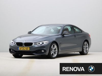 tweedehands BMW 428 4-SERIE Coupé 428 i High Executive | Sport Line | Leder | Sportstoelen | Stoelverwarming | Head-up display | Surround View | HiFi | Comfort Acces | Spoorwisselassistent | Navigatie Professional | PDC | Achteruitrijcamera | Grootlichtassistent | Cli