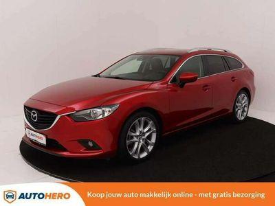 tweedehands Mazda 6 Sportbreak 2.5 GT-M 192PK PJ64179 | Navi | Camera
