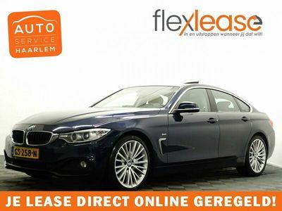 tweedehands BMW 420  4 Serie, Gran Coupé d High Executive M-Sport Aut8 Schuifdak, Leer, Navi Pro, Xenon