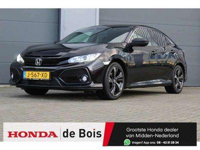 tweedehands Honda Civic 1.0 i-VTEC Elegance   € 399,- Private Lease   Navigatie   Cruise control   PDC   Fabrieksgarantie 08-2022  