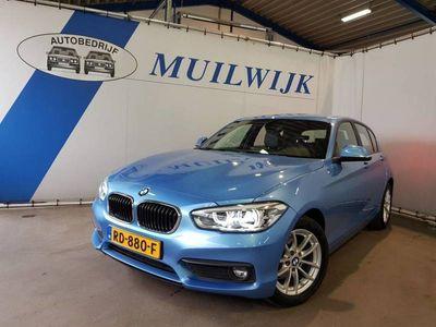 tweedehands BMW 118 1-serie 1-SERIE I CORPORATE LEASE EXECUTIVE /AUT/LED/NAVI/LEDER