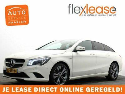 tweedehands Mercedes 200 CLA-KLASSE Shooting BrakeCDI AMG line Automaat - Navi, Camera, Hleer, Xenon, ECC, LMV