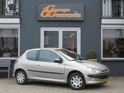 tweedehands Peugeot 206 1.4 Gentry Premium Automaat, 120.000km!, Volleder,
