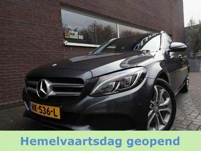 tweedehands Mercedes C350 Estate 350e Edition EX BTW LED Leder Burmester Nav