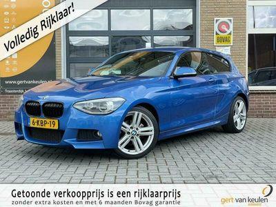 tweedehands BMW 114 114 i M-SPORT LEER/NAVI/XENON/LMV/UNIEKE NL-AUTO!